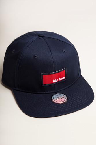 Бейсболка TRUESPIN Hip Hop Snapback (Navy, O/S)