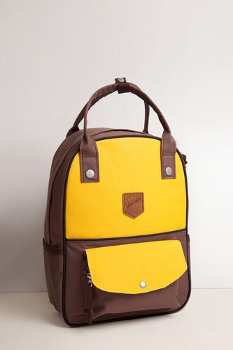 Рюкзак ЗАПОРОЖЕЦ Олимпиада 80 маленький (Yellow/Brown)