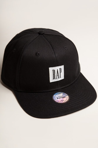 Бейсболка TRUESPIN Rap Snap (Black, O/S) бейсболка truespin rap snap black o s