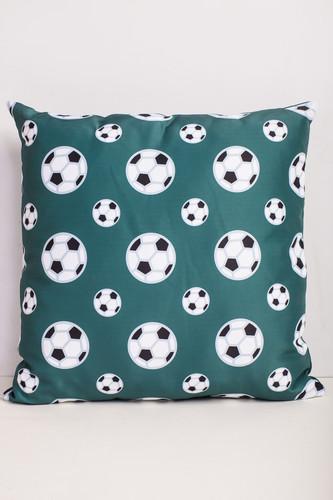 все цены на Подушка ЗАПОРОЖЕЦ Мяч На Зеленом (Зеленый) онлайн