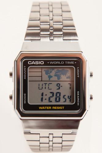 Часы CASIO A-500WEA-1E 3437 (Хром-1E) casio a 168wec 1e
