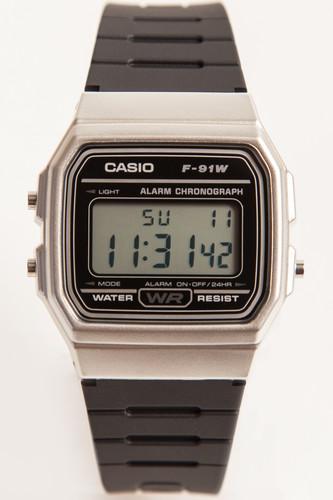 Часы CASIO F-91WM-7A (Хром/Черный) casio f 91wm 7a
