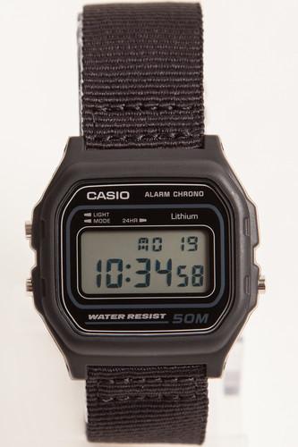 Часы CASIO W-59B-1A 590 (Черный) h c koch musikalisches lexikon