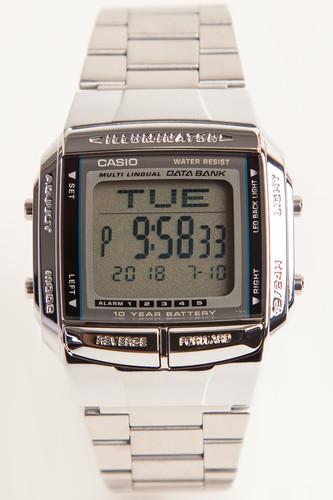 купить Часы CASIO DB-360N-1A 2515 (Серый) по цене 2960 рублей