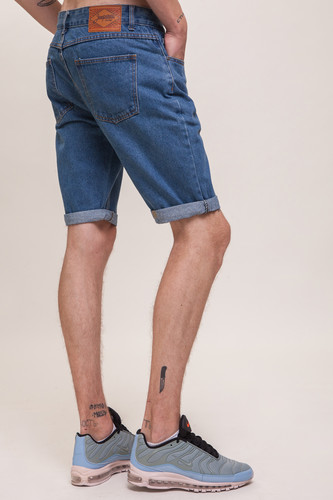 Шорты ЗАПОРОЖЕЦ Basic Denim Short Zap Regular Flex SS18 Classic Blue 42 фото 6