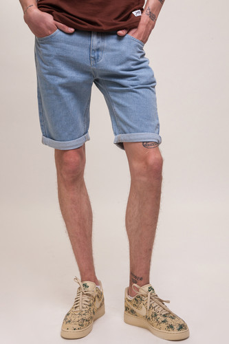 Шорты ЗАПОРОЖЕЦ Basic Denim Short Zap Regular Flex SS18 Light Blue 44 фото 5