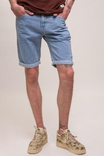 Шорты ЗАПОРОЖЕЦ Basic Denim Short Zap Regular Flex SS18 (Light Blue, 38) джинсы запорожец carrot fit men s denim zap 01r2 mid blue 36 34