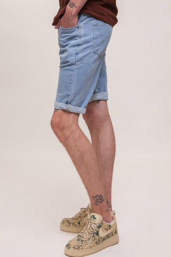 Шорты ЗАПОРОЖЕЦ Basic Denim Short Zap Regular Flex SS18 Light Blue 44 фото 7