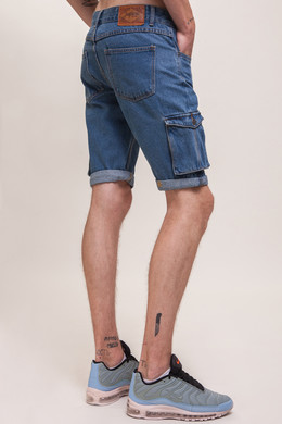 Шорты ЗАПОРОЖЕЦ Pocket Denim Short Zap Regular Flex SS18 Classic Blue 42