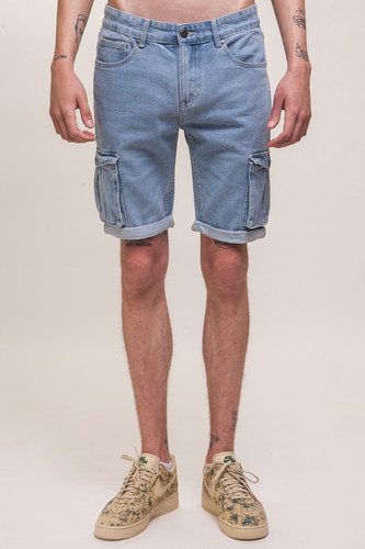 цена на Шорты ЗАПОРОЖЕЦ Pocket Denim Short Zap Regular Flex SS18 (Light Blue, 30)