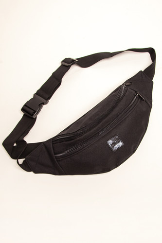 Сумка URBAN CLASSICS Double-Zip Shoulder Bag (Black/Black) цена и фото
