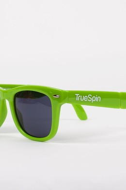 Очки TRUESPIN Folding Sunglasses Light-Green фото