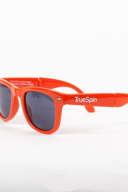 Очки TRUESPIN Folding Sunglasses Orange фото