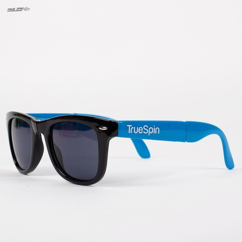 Очки TRUESPIN Folding Sunglasses (Black-Blue)