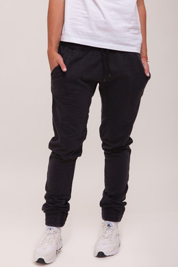 Брюки URBAN CLASSICS Ladies Acid Wash Jogging Pants Dark Grey фото