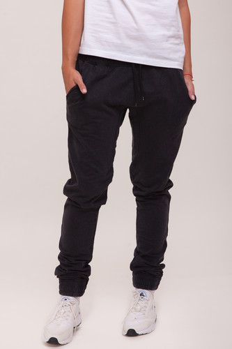 Брюки URBAN CLASSICS Ladies Acid Wash Jogging Pants (Dark Grey, L) pocket zipper fly straight leg dark wash jeans