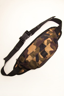 Сумка URBAN CLASSICS Camo Shoulder Bag Wood Camo фото