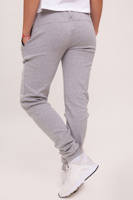 Брюки URBAN CLASSICS Ladies Fitted Athletic Pants Grey фото 2