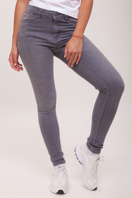 Джинсы URBAN CLASSICS Ladies Skinny Denim Pants Grey фото