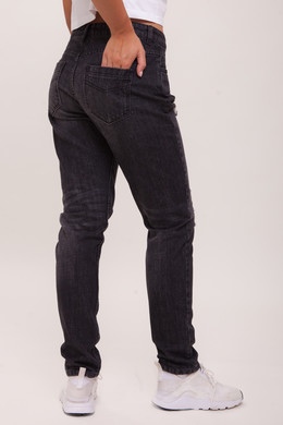 Джинсы URBAN CLASSICS Ladies Boyfriend Denim Pants Black Washed фото 2