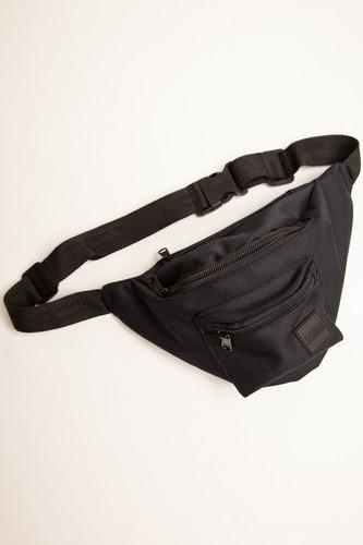Сумка URBAN CLASSICS Triple-Zip Hip Bag (Black/Black)