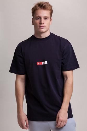 Футболка CODERED T+ Crime/Grime (Чернильный Синий, L) рубашка codered harbor чернильный синий молочный красный xl