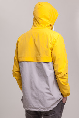 Анорак SKILLS Colorblock Yellow/Grey фото 2