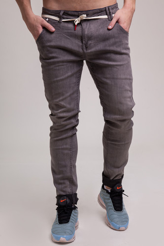 Джинсы SKILLS Slim Flex SS18 Grey фото 20