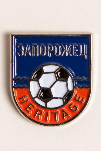 Значок ЗАПОРОЖЕЦ Футбол Волна (Разноцветный)
