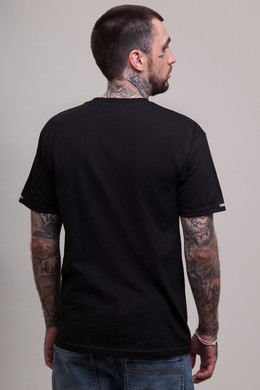 Футболка CROOKS & CASTLES Lampin Crew T-Shirt Black фото 2
