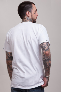 Футболка CROOKS & CASTLES Lampin Crew T-Shirt White фото 2