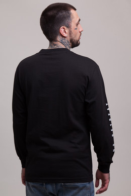 Лонгслив CROOKS & CASTLES No Surrender L/S Crew Top Black