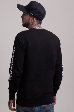 Толстовка CROOKS & CASTLES Rally Crew Sweatshirt Black фото 2