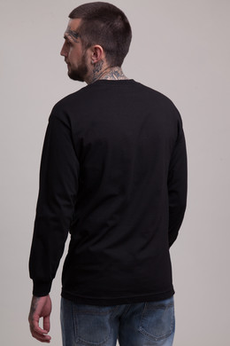 Лонгслив CROOKS & CASTLES Timeless L/S Top Black