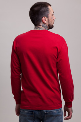 Лонгслив CROOKS & CASTLES Timeless L/S Top Scarlet фото 2