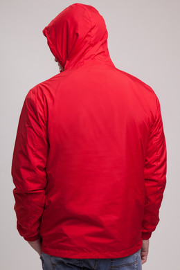 Анорак URBAN CLASSICS Basic Pull Over Jacket Fire Red фото 2