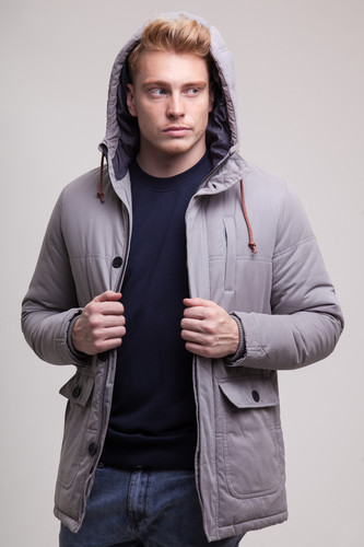 Куртка REVOLUTION Jacket Heavy 7399 (Grey, XL) куртка revolution jacket heavy 7442 army xl