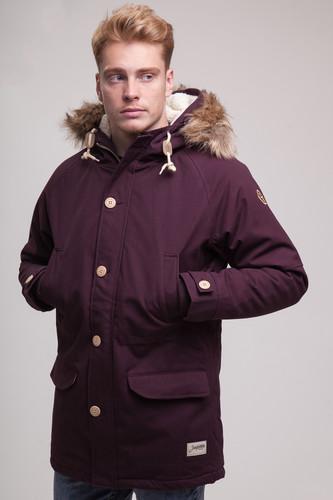 Куртка ЗАПОРОЖЕЦ Дичь парка FW16 (Dark Brown, 2XL)