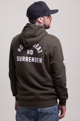 Толстовка CROOKS & CASTLES No Surrender Hooded Pullover Rifle Green фото