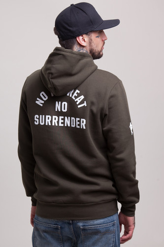 Толстовка CROOKS & CASTLES No Surrender Hooded Pullover Rifle Green фото 11