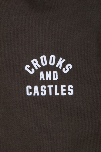 Толстовка CROOKS & CASTLES No Surrender Hooded Pullover Rifle Green фото 15