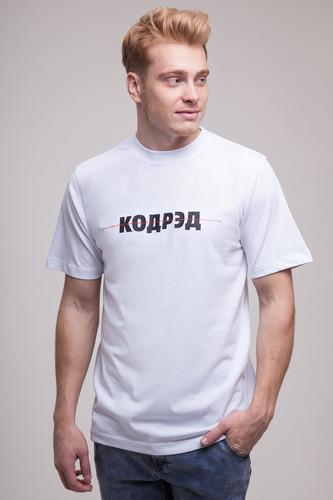 Футболка CODERED Regular Description Crossline (Белый, L) футболка codered regular description crossline белый l
