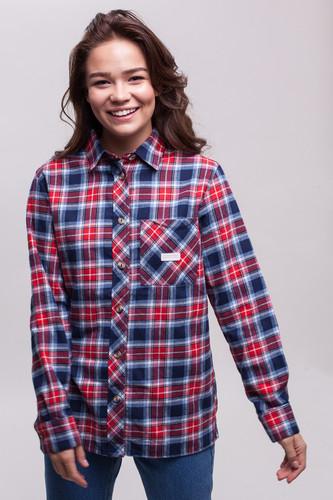 Рубашка CODERED Harbor Lady женская (Красный/Темно-Синий/Серо-Голубой/Белый, XS) рубашка codered harbor чернильный синий молочный красный xl